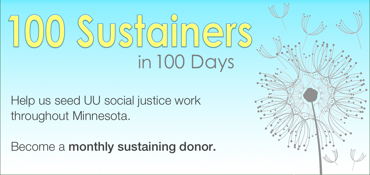 100 Sustainers in 100 Days